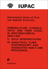 International Union of Pure and Applied Chemistry - 1st Edition - ISBN: 9780080212272, 9781483138909