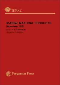 International Symposium on Marine Natural Products - 1st Edition - ISBN: 9780080212425, 9781483284521