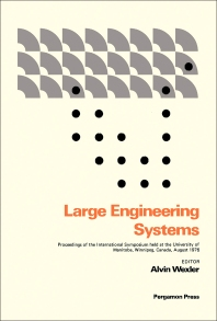 Large Engineering Systems - 1st Edition - ISBN: 9780080212951, 9781483188058
