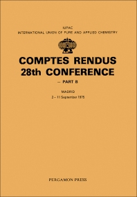 Comptes Rendus 28th Conference - 1st Edition - ISBN: 9780080213576, 9781483279060