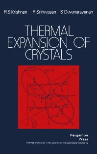 Thermal Expansion of Crystals - 1st Edition - ISBN: 9780080214054, 9781483158075