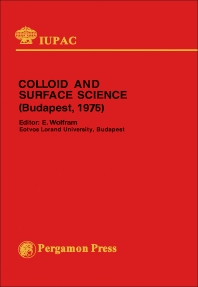 Colloid and Surface Science - 1st Edition - ISBN: 9780080215709, 9781483153452