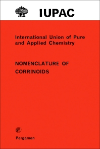 Nomenclature of Corrinoids - 1st Edition - ISBN: 9780080215778, 9781483284279