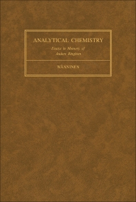 Essays on Analytical Chemistry - 1st Edition - ISBN: 9780080215969, 9781483188140