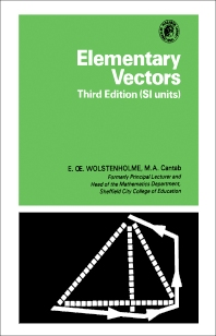 Elementary Vectors - 3rd Edition - ISBN: 9780080216553, 9781483138435