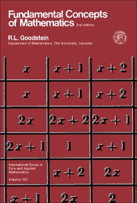 Cover image for Fundamental Concepts of Mathematics