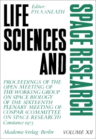 Life Sciences and Space Research - 1st Edition - ISBN: 9780080217833, 9781483149721