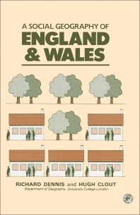 Cover image for A Social Geography of England and Wales