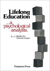 Lifelong Education - 1st Edition - ISBN: 9780080218144, 9781483188195