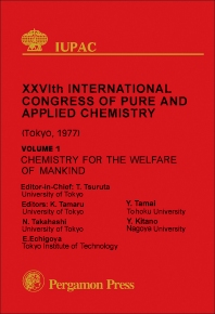 Chemistry for the Welfare of Mankind - 1st Edition - ISBN: 9780080220079, 9781483151014