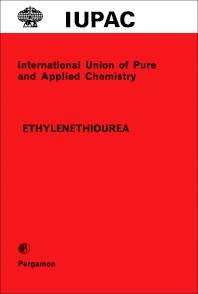 Cover image for Ethylenethiourea