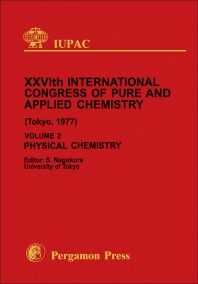 Physical Chemistry - 1st Edition - ISBN: 9780080220369, 9781483150994