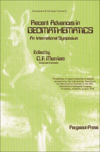 Recent Advances in Geomathematics - An International Symposium - 1st Edition - ISBN: 9780080220956, 9781483297194