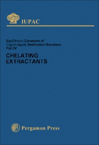 Chelating Extractants - 1st Edition - ISBN: 9780080223438, 9781483158013