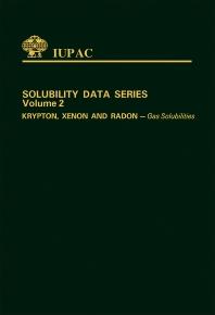 Cover image for Krypton, Xenon & Radon