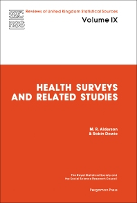 Health Surveys and Related Studies - 1st Edition - ISBN: 9780080224596, 9781483285504