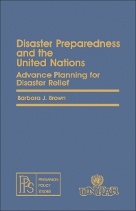 Cover image for Disaster Preparedness and the United Nations