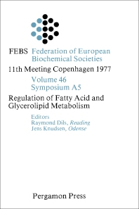 Regulation of Fatty Acid and Glycerolipid Metabolism - 1st Edition - ISBN: 9780080226279, 9781483148762