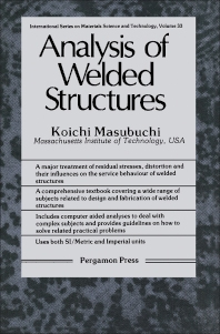 Analysis of Welded Structures - 1st Edition - ISBN: 9780080227146, 9781483188430
