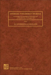Hydrides for Energy Storage - 1st Edition - ISBN: 9780080227153, 9781483188447