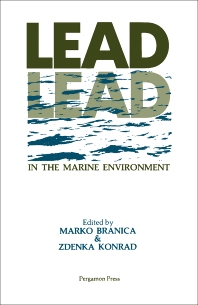 Cover image for Lead in the Marine Environment