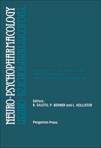 Neuro-Psychopharmacology - 1st Edition - ISBN: 9780080230894, 9781483159775