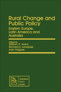 Rural Change and Public Policy - 1st Edition - ISBN: 9780080231099, 9781483147604