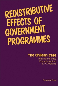 Redistributive Effects of Government Programmes - 1st Edition - ISBN: 9780080231303, 9781483153445