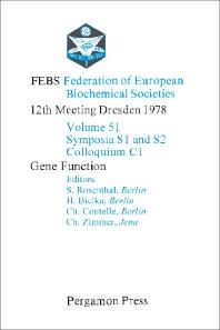 Gene Function - 1st Edition - ISBN: 9780080231754, 9781483188515