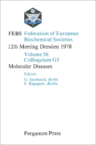 Molecular Diseases - 1st Edition - ISBN: 9780080231808, 9781483188553