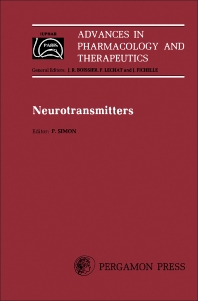 Neurotransmitters - 1st Edition - ISBN: 9780080231921, 9781483154756