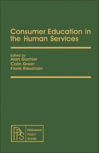 Consumer Education in the Human Services - 1st Edition - ISBN: 9780080237084, 9781483149684