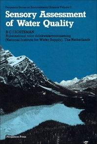 Sensory Assessment of Water Quality - 1st Edition - ISBN: 9780080238487, 9781483150307