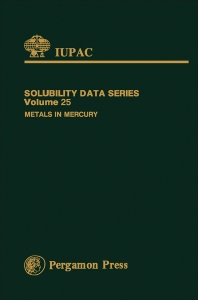Metals in Mercury - 1st Edition - ISBN: 9780080239217, 9781483285597