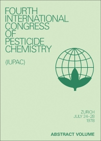 Advances in Pesticide Science - 1st Edition - ISBN: 9780080239309, 9781483182148