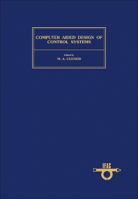 Computer Aided Design of Control Systems - 1st Edition - ISBN: 9780080244884, 9781483146911