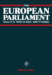 The European Parliament - 1st Edition - ISBN: 9780080245355, 9781483279312