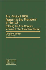 The Global 2000 Report to the President of the U.S. - 1st Edition - ISBN: 9780080246185, 9781483189208