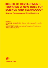 Issues of Development: Towards a New Role for Science and Technology - 1st Edition - ISBN: 9780080246918, 9781483153520