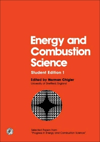 Cover image for Energy and Combustion Science