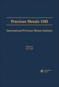 Precious Metals 1981 - 1st Edition - ISBN: 9780080253923, 9781483189475