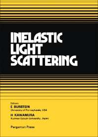 Inelastic Light Scattering - 1st Edition - ISBN: 9780080254258, 9781483154602