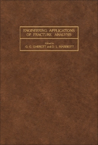 Engineering Applications of Fracture Analysis - 1st Edition - ISBN: 9780080254371, 9781483189505