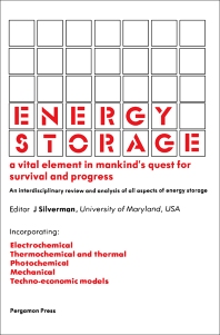 Energy Storage - 1st Edition - ISBN: 9780080254715, 9781483145488