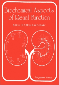 Biochemical Aspects of Renal Function - 1st Edition - ISBN: 9780080255170, 9781483182285