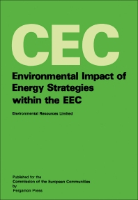 Cover image for Environmental Impact of Energy Strategies Within the EEC