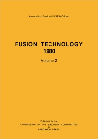 Fusion Technology 1980 - 1st Edition - ISBN: 9780080256979, 9781483137490