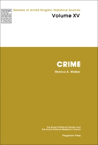 Crime - 1st Edition - ISBN: 9780080261041, 9781483294711