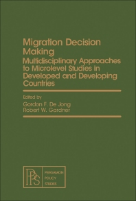 Migration Decision Making - 1st Edition - ISBN: 9780080263052, 9781483160368