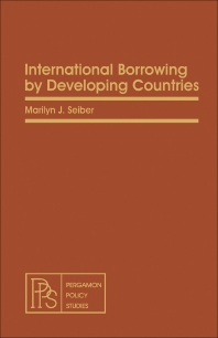International Borrowing by Developing Countries - 1st Edition - ISBN: 9780080263328, 9781483189819